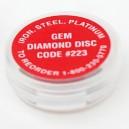 Disque Diamant, rouge